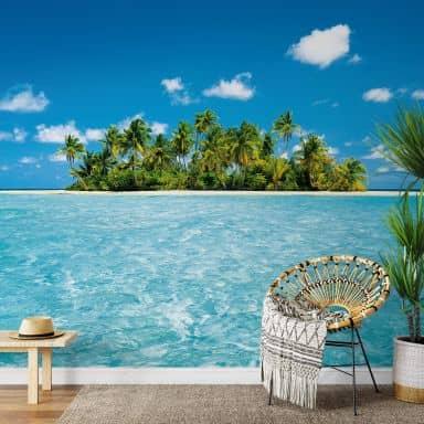 Fototapete Papiertapete Malediven Traum