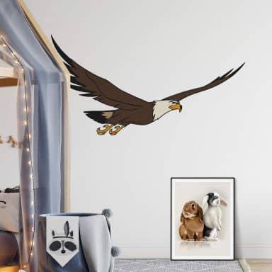 Sticker mural - Grand Aigle