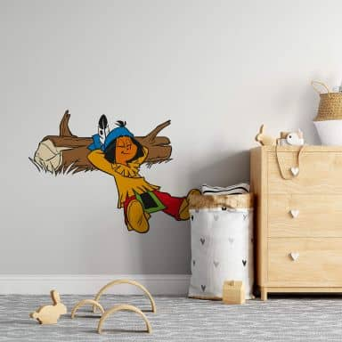 Yakari Sleeping Wall Sticker