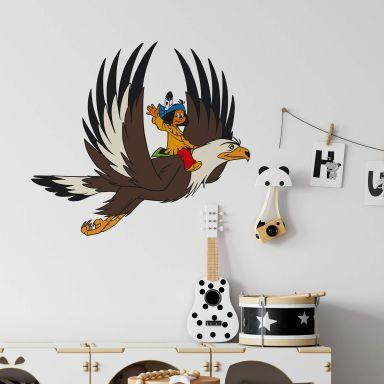 Wandtattoo Yakari und Großer Adler