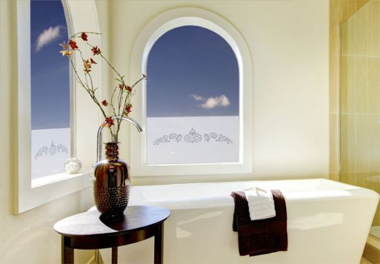 folie f r fenster scheiben ornament phantasie wall. Black Bedroom Furniture Sets. Home Design Ideas