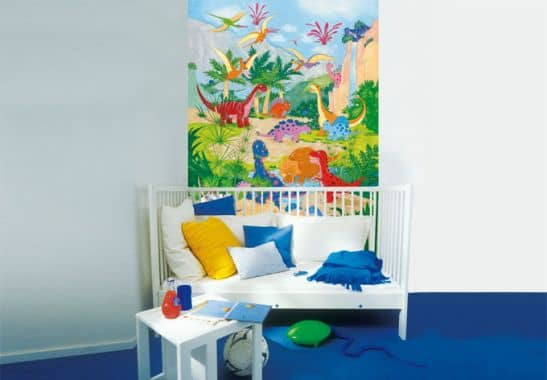 fototapete papiertapete dino welt die kinder tapete f r kleine dinosaurier fans wall. Black Bedroom Furniture Sets. Home Design Ideas