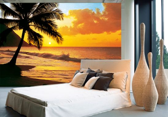 fototapete fototapete papiertapete pacific sunset. Black Bedroom Furniture Sets. Home Design Ideas