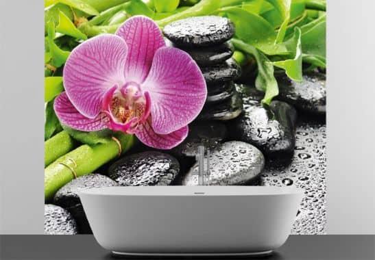 Selbstklebende Tapete Wellness : Fototapete – Fototapete Spa Concept