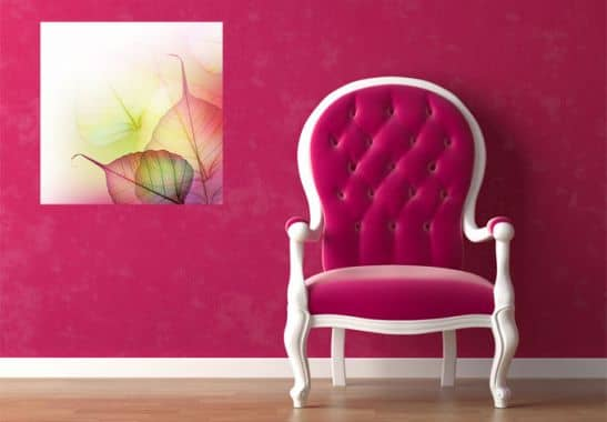 Wallprints - W - Pink Design