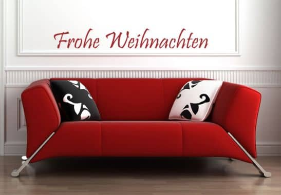 wandtattoo frohe weihnachten dekoration f r den advent. Black Bedroom Furniture Sets. Home Design Ideas