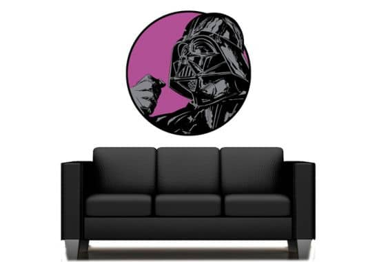 wandtattoo star wars clone wars darth vader classic 01. Black Bedroom Furniture Sets. Home Design Ideas