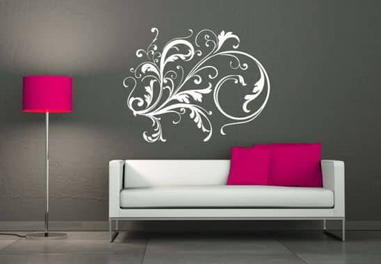 wandtattoo elfenzweig fantastisches elfen ornament wall. Black Bedroom Furniture Sets. Home Design Ideas