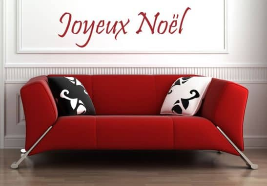 wandtattoo joyeux noel von k l wall art frohe. Black Bedroom Furniture Sets. Home Design Ideas