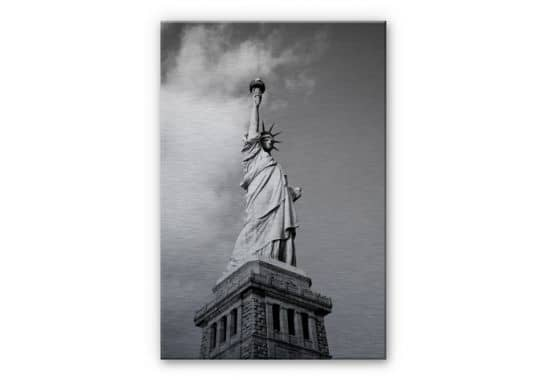 alu dibond wandbild lady liberty wall. Black Bedroom Furniture Sets. Home Design Ideas