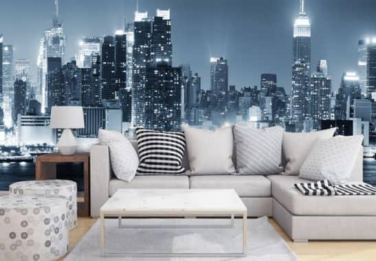 papier peint photo new york at wall. Black Bedroom Furniture Sets. Home Design Ideas