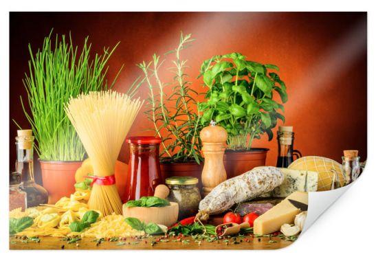 Poster italiaanse keuken wall - Decoratie pizzeria ...