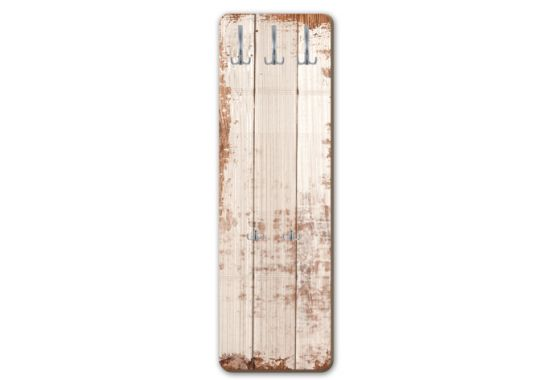 garderobe shabby board vertikal f r ihre wand von k l wall art wall. Black Bedroom Furniture Sets. Home Design Ideas