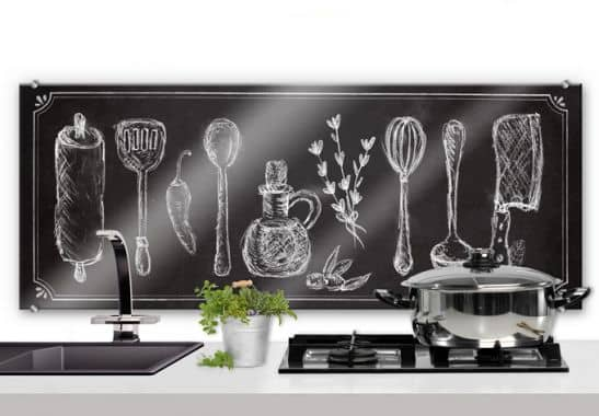 pannello paraschizzi cucina rustica panoramica wall. Black Bedroom Furniture Sets. Home Design Ideas