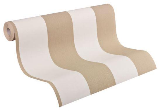 Muster Tapeten Braun Beige : Mustertapeten – A.S. Cr?ation Vliestapete OK 5 Beige, Braun Muster A4