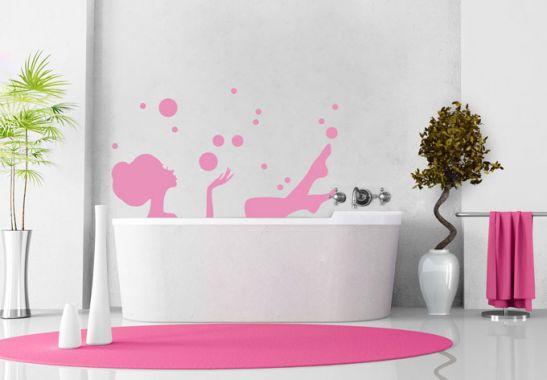 Adesivo murale - Un bagno rilassante  wall-art.it