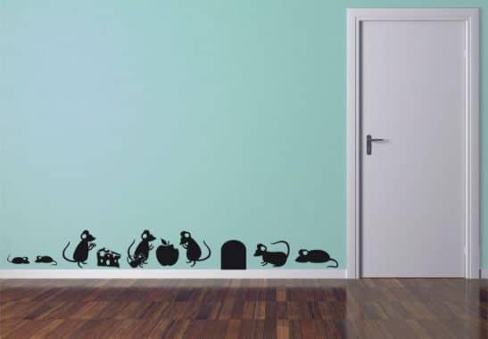 m use set wandtattoo von k l wall art wall. Black Bedroom Furniture Sets. Home Design Ideas