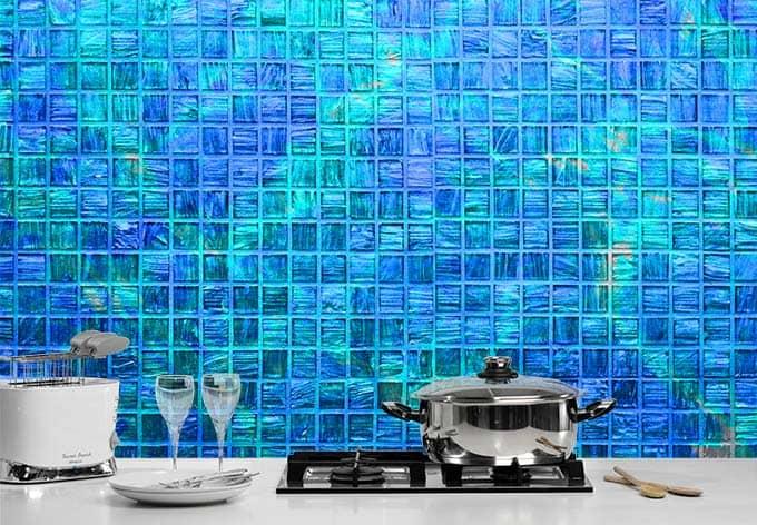fototapete mosaikfliesen kacheltextur f r bad oder k che wall. Black Bedroom Furniture Sets. Home Design Ideas