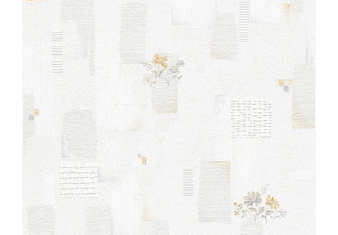 Beige Grau : Mustertapete A.S. Création Tapete OK 6 Beige, Grau ...