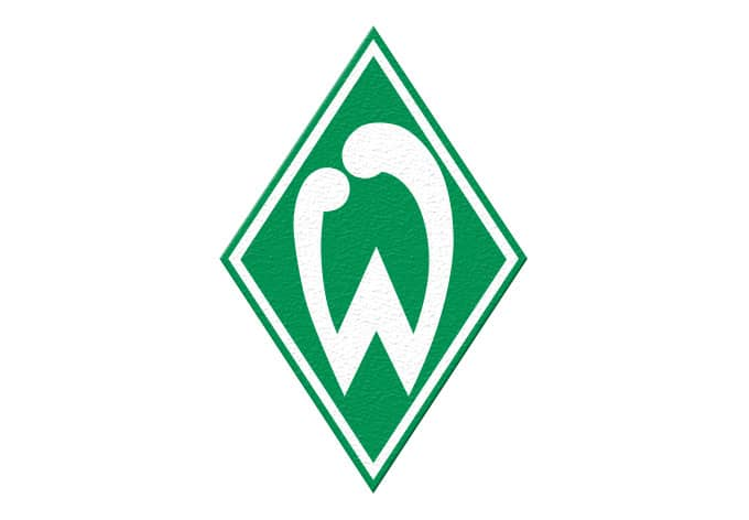 anti rutschsticker werder bremen logo von k l wall art f r dusche und badewanne wall. Black Bedroom Furniture Sets. Home Design Ideas
