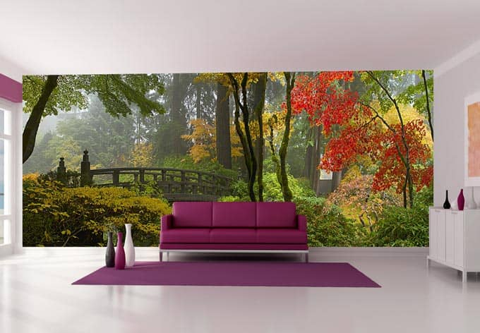 fototapete japanischer garten von k l wall art wall. Black Bedroom Furniture Sets. Home Design Ideas