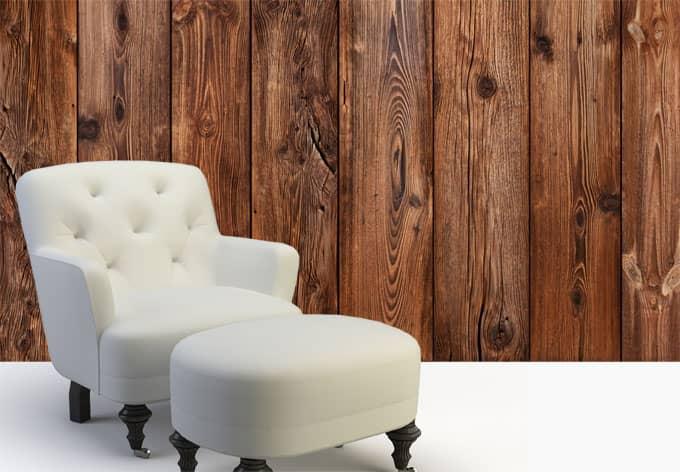 Selbstklebende Tapeten Holz : Wooden Wall Art Panels