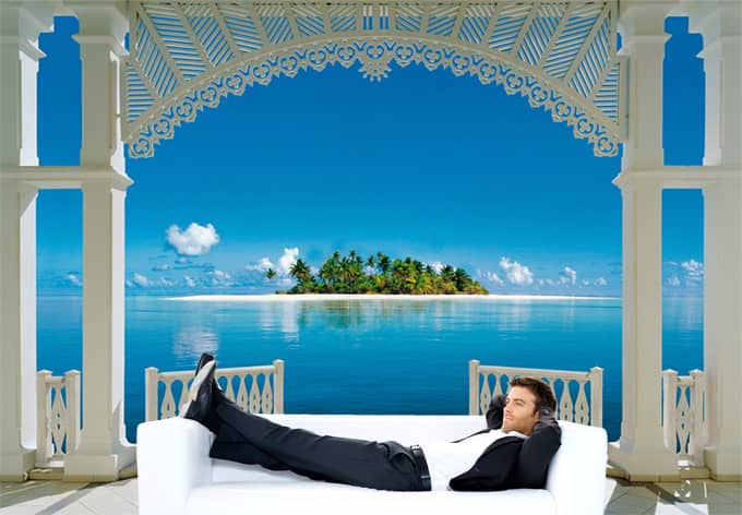 fototapete papiertapete a perfect day aus der wand wird. Black Bedroom Furniture Sets. Home Design Ideas