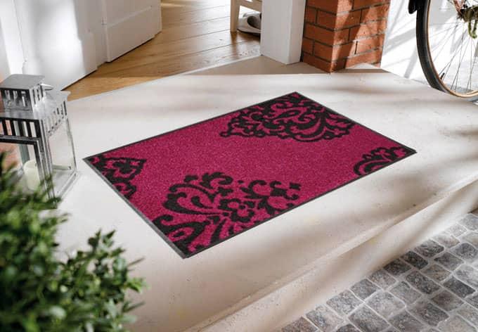 fu matte barock deko f r den flur wall. Black Bedroom Furniture Sets. Home Design Ideas