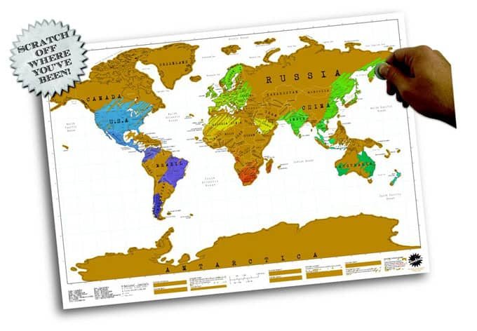 Rubbel-Weltkarte