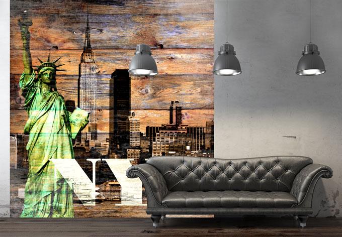 fototapete new york szenerie von k l wall art wall. Black Bedroom Furniture Sets. Home Design Ideas