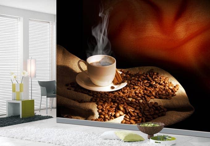 fototapete coffee 3 von k l wall art wall. Black Bedroom Furniture Sets. Home Design Ideas