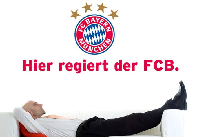 hier regiert der fcb offizielles fc bayern m nchen. Black Bedroom Furniture Sets. Home Design Ideas