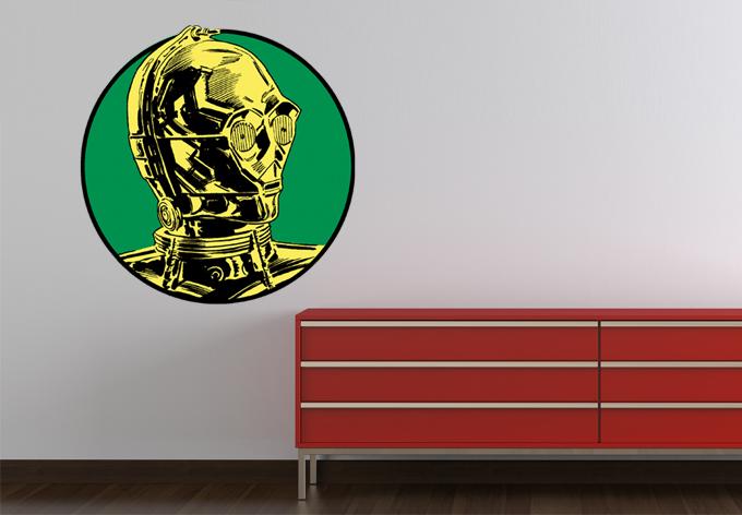 Wandtattoo C-3PO Classic 01