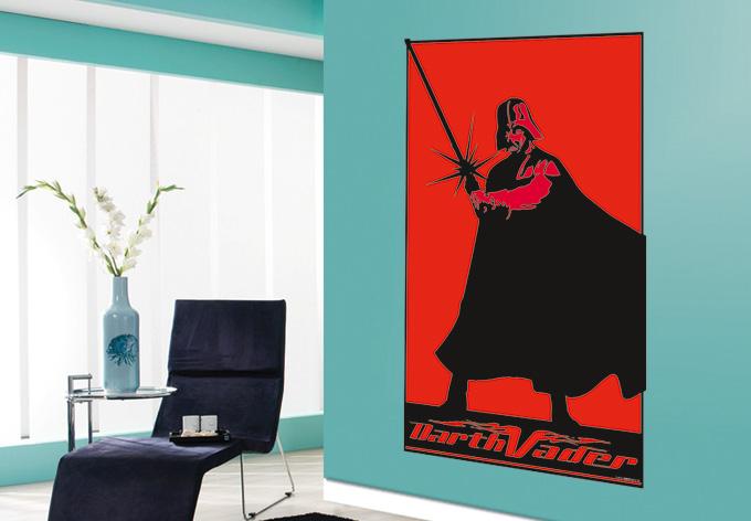 wandtattoo star wars clone wars darth vader 03 als. Black Bedroom Furniture Sets. Home Design Ideas