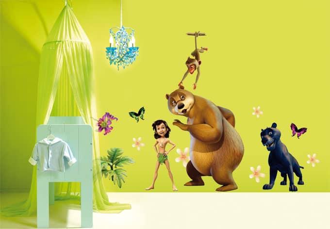Kinderzimmer wandgestaltung dschungelbuch  Kinderzimmer Wandgestaltung Dschungelbuch | afdecker.com