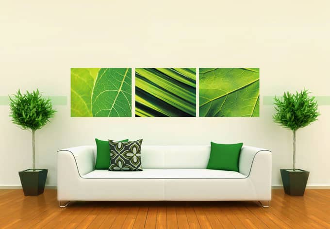Vinyl Tapeten Auf Raufaser : Nature Wall Stickers