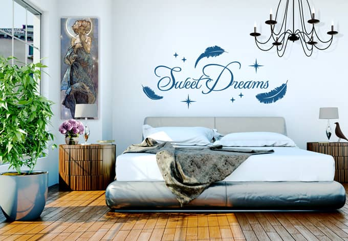 ... Awesome Sweet Dream Wall Sticker The Best Collection Of Quotes