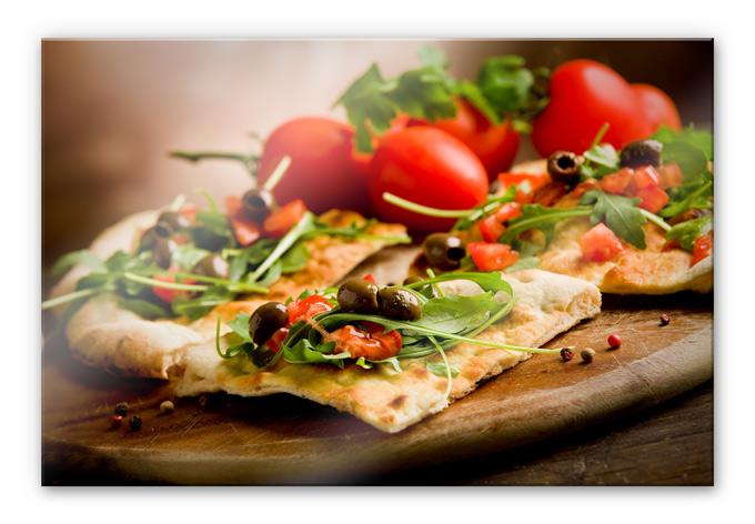 Italiaanse Keuken Teksten : Acrylglas Italiaanse Pizza – wall-art.nl