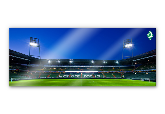 acrylglas werder bremen weserstadion trib ne innen das xxl bild bei k l wall art wall. Black Bedroom Furniture Sets. Home Design Ideas