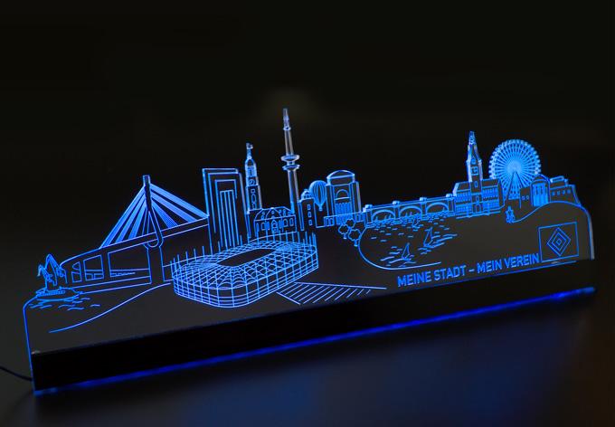 aleniolights hsv skyline led skyline von k l wall art wall. Black Bedroom Furniture Sets. Home Design Ideas