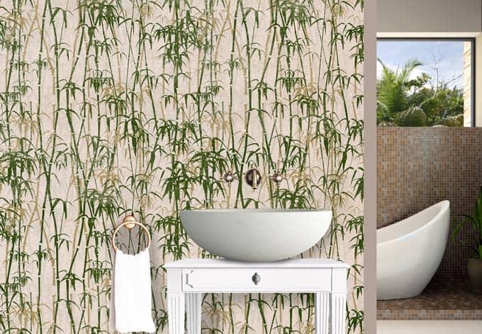 fototapete bambus grunge wall. Black Bedroom Furniture Sets. Home Design Ideas