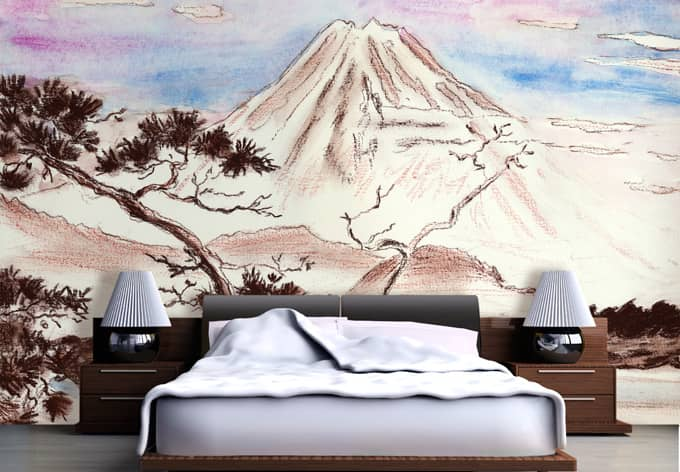 Fototapete toetzke asian landscape wall - Fototapete asia ...