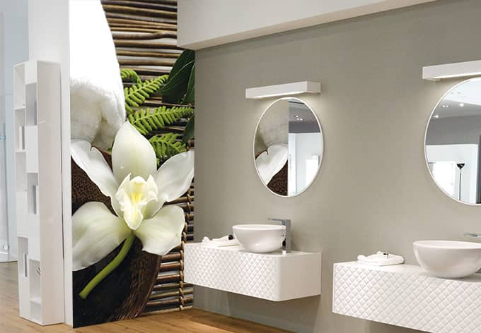 fototapete vliestapete wellness orchidee exklusiv aus. Black Bedroom Furniture Sets. Home Design Ideas