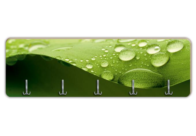 Garderobe natur 03 horizontal f r ihre wand von k l wall for Garderobe natur