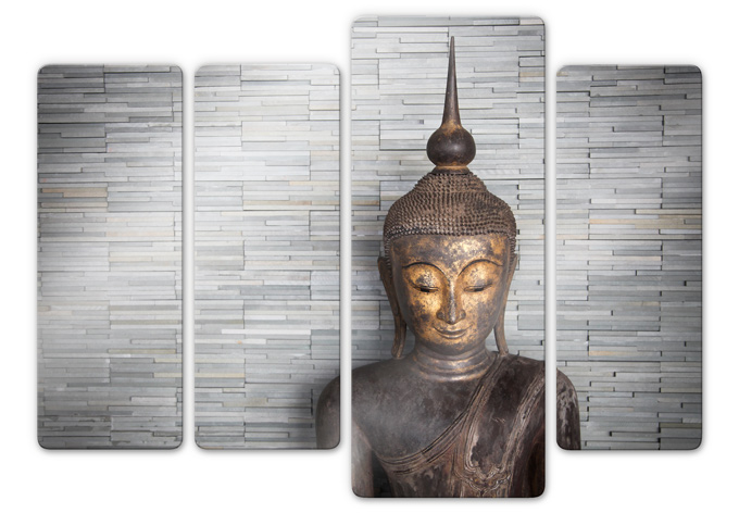 Tableau en verre bouddha tha lande wall for Fenetre 50x120