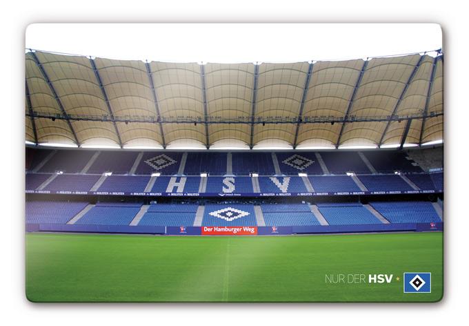HSV Wandbilder aus Glas - Volksparkstadion | wall-art.de