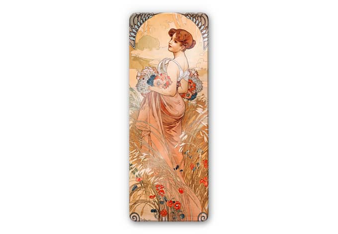 Tableau en verre mucha wall for Fenetre 50x120