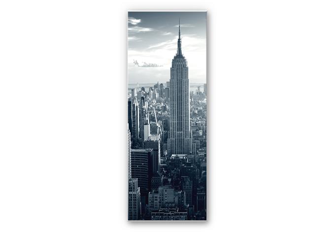 hartschaum wandbild panorama the empire state building. Black Bedroom Furniture Sets. Home Design Ideas