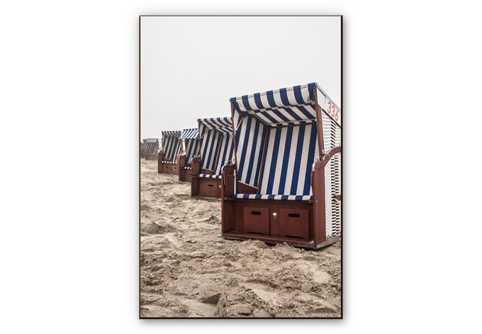 hdf wandbild strandkorb auf norderney das traumhafte motiv von k l wall art wall. Black Bedroom Furniture Sets. Home Design Ideas