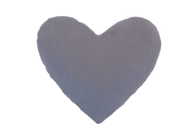kissen herzform grau wall. Black Bedroom Furniture Sets. Home Design Ideas